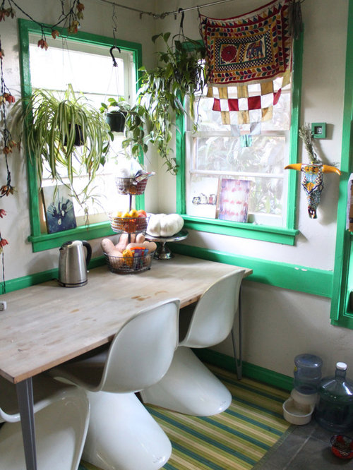 Bohemian Dining Room Ideas & Photos | Houzz