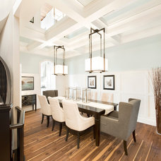 Contemporary Dining Room by Trickle Creek Custom Homes