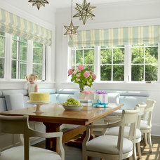 Eclectic Dining Room The Ladue House