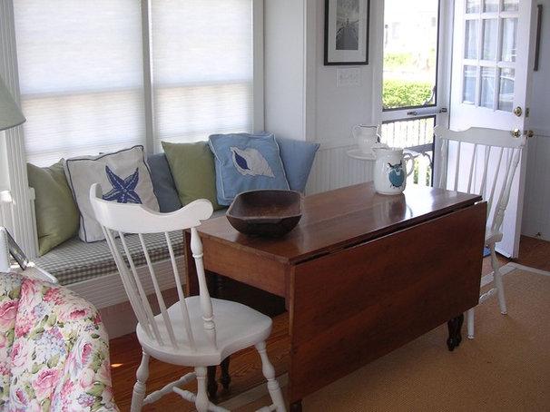 Beach Style Dining Room The Little House on Cape Cod