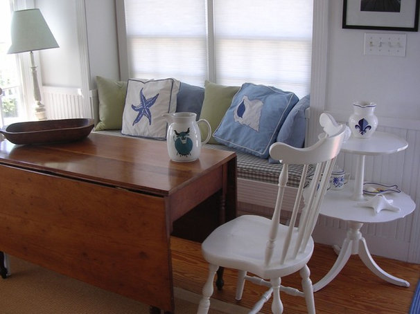 Beach Style Dining Room The Little House on Cape Cod