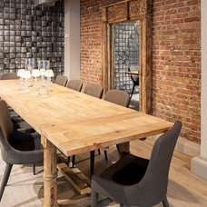 Industrial Dining Room by Service Simplissimmo Inc.
