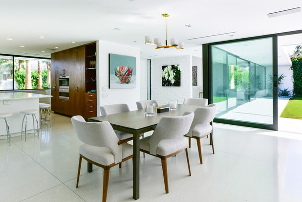 Midcentury Dining Room by Studio AR+D Architects
