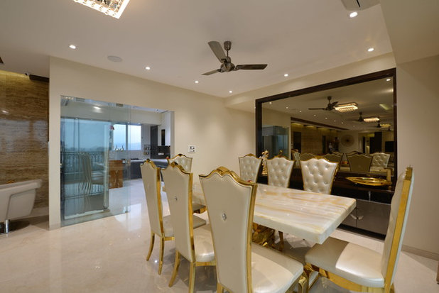 Contemporary Dining Room by Milind Pai Architects & Interior Designers