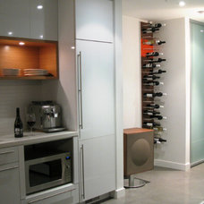 Modern Dining Room by STACT Wine Displays Inc.