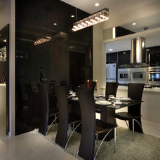 Contemporary Dining Room by The Interior Place (S) Pte Ltd