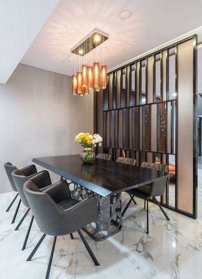 Contemporary Dining Room by The Design House Company