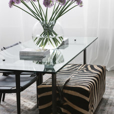 Eclectic Dining Room by MPD London