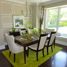 Contemporary Dining Room by Eleni Interiors