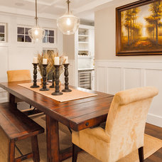 Traditional Dining Room by Axiom Luxury Homes