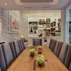 modern dining room by Phil Kean Designs