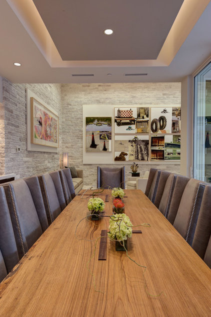 Modern Dining Room by Phil Kean Design Group
