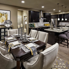 Contemporary Dining Room by Village Homes