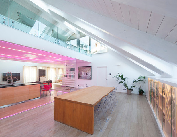 Contemporaneo Sala da Pranzo by Gruppo Building