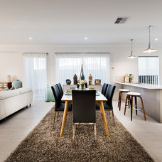 Contemporary Dining Room by Domain Homes