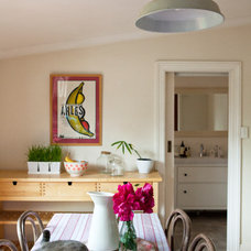 Eclectic Dining Room by Twinkle and Whistle
