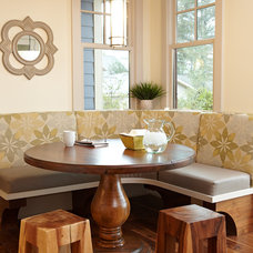 Farmhouse Dining Room by Tim Brinks Builders