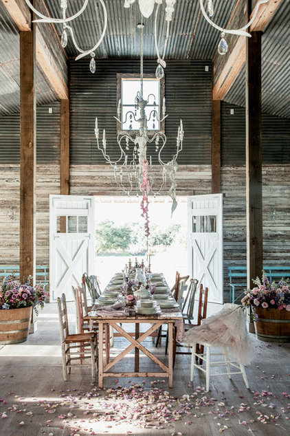 Eclectic Dining Room by Amy Neunsinger