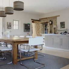 Contemporary Dining Room by Holly Marder