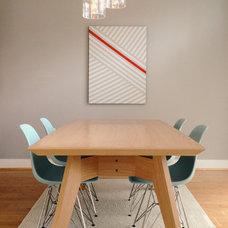 Modern Dining Room by Brad Camp