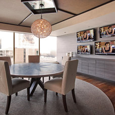 Contemporary Dining Room by Arch-Interiors Design Group, Inc.