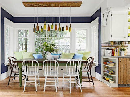 Eclectic Dining Room by Shannon Quimby