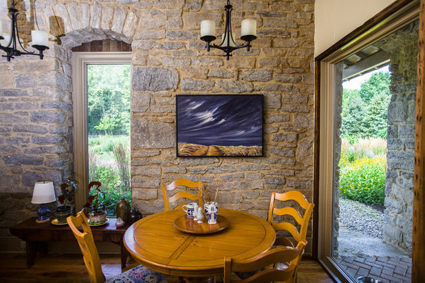 Good Rustic Dining Room by Wilmes u Associates Architects