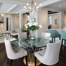 Contemporary Dining Room by Morrison Homes