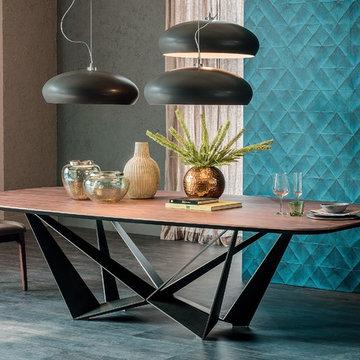 The Skorpio Wood Dining Table by Cattelan Italia