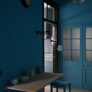 Urban dining room photo in London