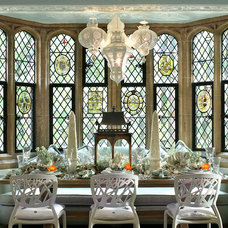 Eclectic Dining Room by Kenneth Davis Lux International