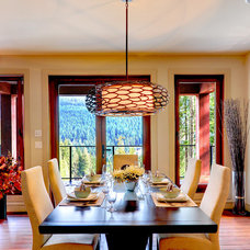 Contemporary Dining Room by Marcraft Homes