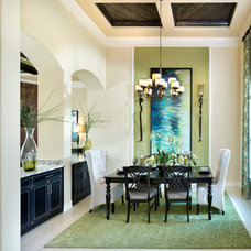 Traditional Dining Room by Mercedes Premier Homes