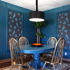 eclectic dining room The Upward Bound House by Elizabeth Bomberger