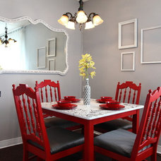 eclectic dining room The Upward Bound House by Kelly LaPlante