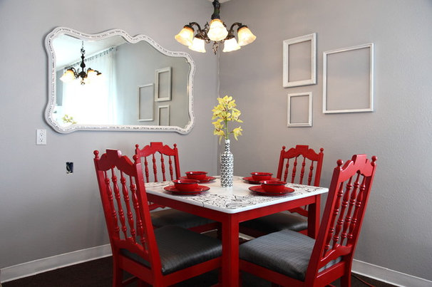 Traditional Dining Room The Upward Bound House by Kelly LaPlante