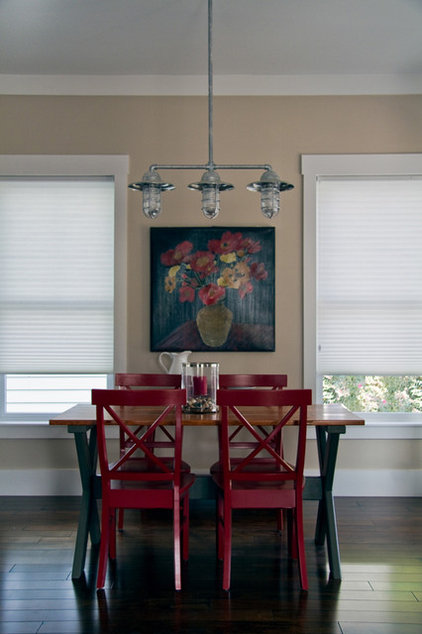 Industrial Dining Room by Barn Light Electric Company