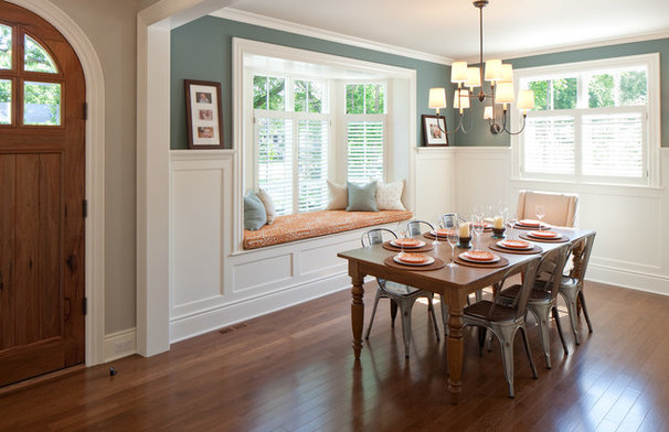 Traditional Dining Room by Insignia Homes