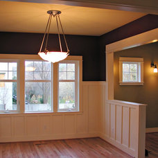 Craftsman Dining Room by Bungalow Company