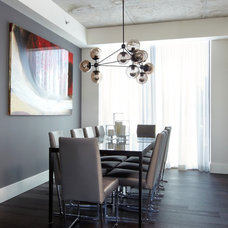 Contemporary Dining Room by Nest Design Studio