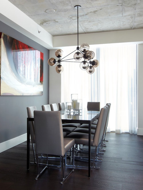 minimalist dining table | houzz