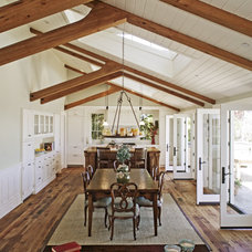 Traditional Dining Room by Aleck Wilson Architects