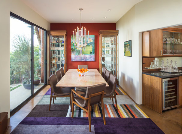 Contemporary Dining Room by Susan Jay Design
