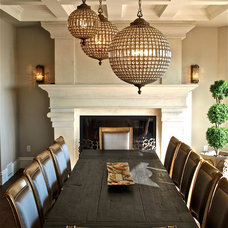 Traditional Dining Room by Creative Spaciz / SPACIZ Design Studio