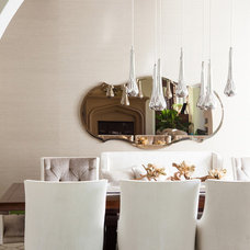Traditional Dining Room by Susan Manrao Design