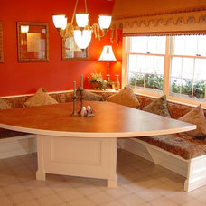 Traditional Dining Room by Lazzell Design Works