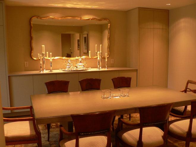 Eclectic Dining Room by Timothy De Clue Design L.L.C