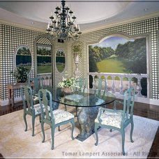 Traditional Dining Room by Tomar Lampert Associates