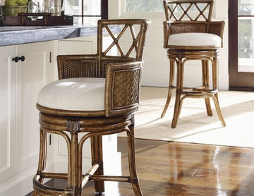 Tommy Bahama Home Bali Hai Kamala Bay Swivel Counter Stool