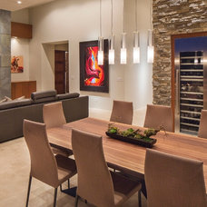 Contemporary Dining Room by Rains Design